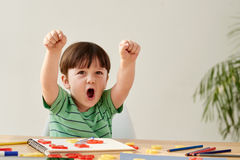 Happy child Royalty Free Stock Photography