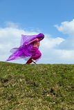 Happy child running free Royalty Free Stock Photo