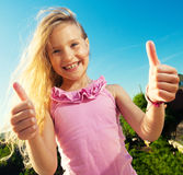 Happy child Royalty Free Stock Image