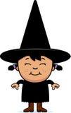 Happy Child Witch Stock Photos