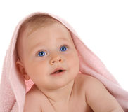 Free Happy Child With Towel On Head Stock Photo - 6718550