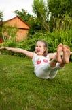 Happy childhood Royalty Free Stock Image
