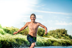 Happy childhood concept Royalty Free Stock Images
