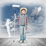 Happy childhood Royalty Free Stock Images