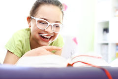Happy childhood, laughing girl Royalty Free Stock Images