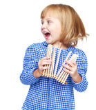 Happy childhood Stock Images