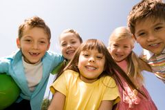 Happy children Royalty Free Stock Image