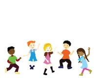 Happy children royalty free illustration