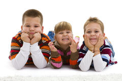 Happy children Stock Images