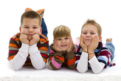 Happy children Stock Image