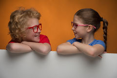Happy children. Royalty Free Stock Photography