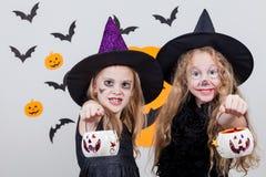 Happy children on Halloween party Royalty Free Stock Photos