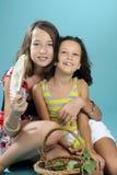 Happy children having fun Stock Photos