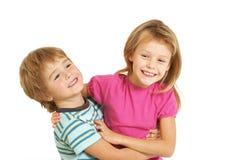 Happy children playing Stock Photos