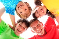 Happy children portrait Royalty Free Stock Photo
