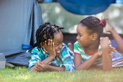 Happy children posing Stock Photos