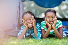 Happy children posing Royalty Free Stock Image