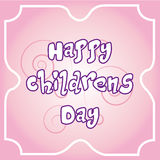 Happy children's day Stock Photo