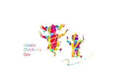 Happy children`s day Stock Photo
