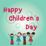 Happy children's day Royalty Free Stock Photo