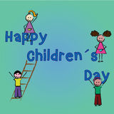 Happy children's day Royalty Free Stock Photos