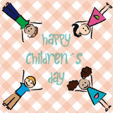 Happy children's day Stock Photography