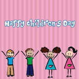 Happy children's day Royalty Free Stock Images