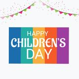 Happy Children`s Day. Royalty Free Stock Photography