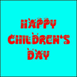 Happy children s day Royalty Free Stock Photography