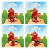 Happy children's day Stock Photos