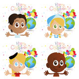 Happy children's day Stock Images