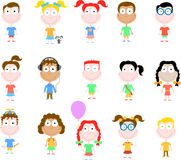 Happy children series Royalty Free Stock Images