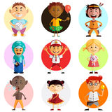 Happy Children's Day Illustration Stock Photography