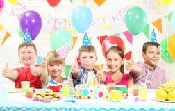 Happy childrens stock photos