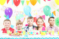 Happy childrens Stock Images