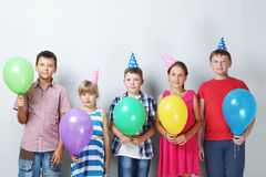 Happy childrens Royalty Free Stock Images