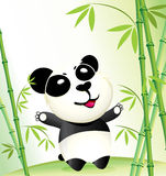 Happy China Panda Royalty Free Stock Photos