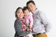 Happy chinese family Royalty Free Stock Photography