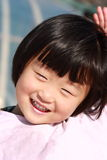 Happy Chinese girl Stock Image