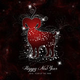 Happy Chinese New Year, 2015 Stock Images