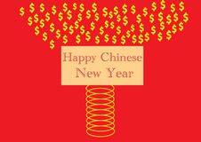 Happy chinese new year spring Royalty Free Stock Images
