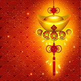 Happy Chinese New Year Vector Design Stock Photo