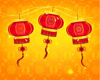 Happy Chinese New Year Vector Design. Elements Royalty Free Stock Photo