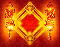 Happy Chinese New Year Vector Design Stock Image