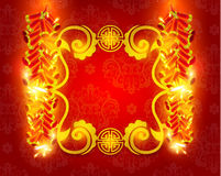 Happy Chinese New Year Vector Design. Elements Royalty Free Stock Images