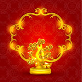 Happy Chinese New Year Vector Design Royalty Free Stock Image