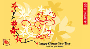 2016-Happy Chinese New Year Stock Photos