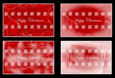 Happy Christams cards Royalty Free Stock Image