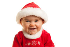 Happy Christmas Baby Royalty Free Stock Photography