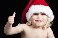 Happy christmas baby Royalty Free Stock Image